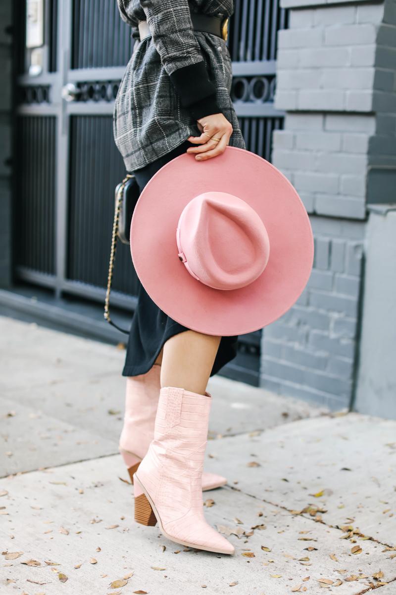 pink lady gaga hat
