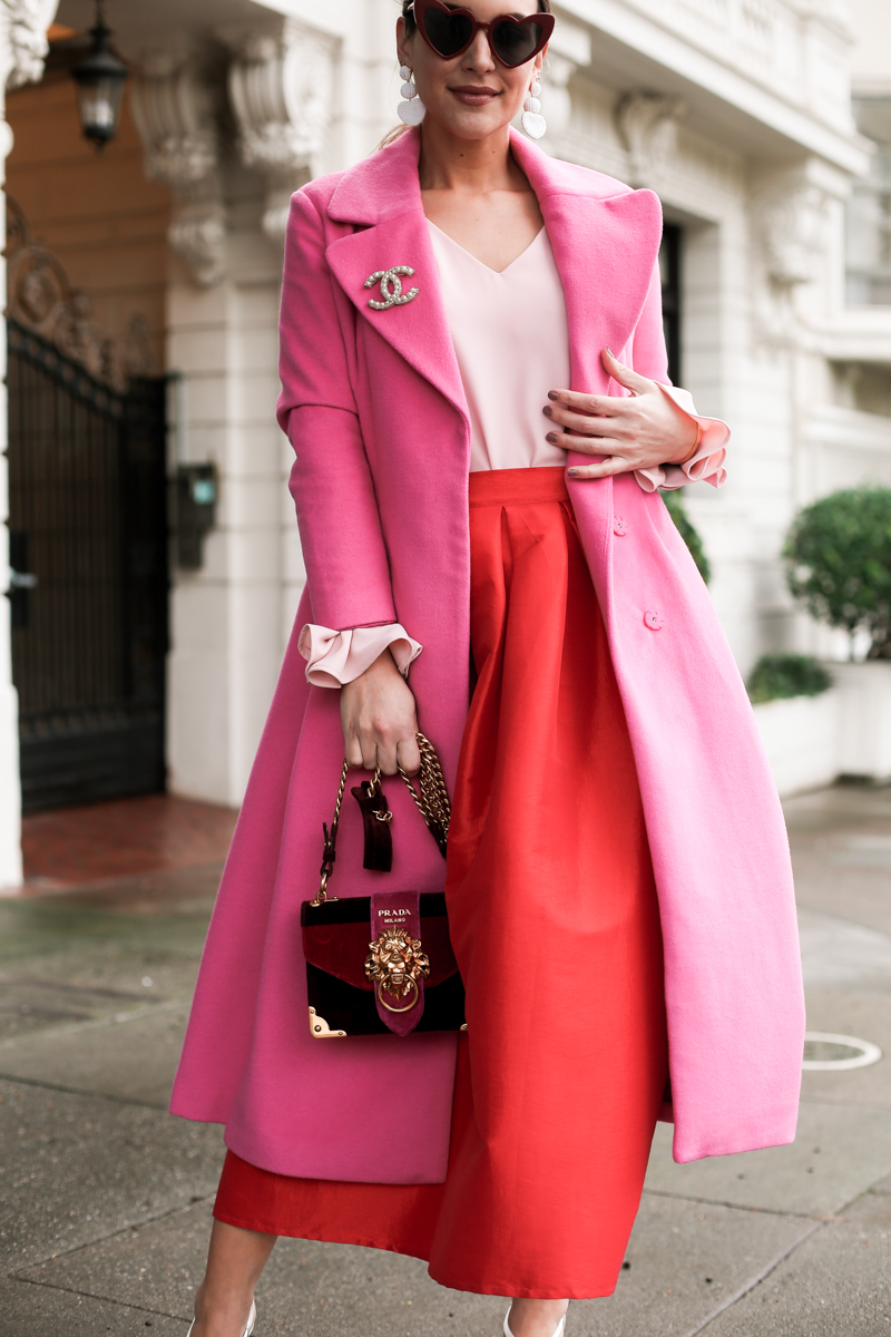 styling red and pink