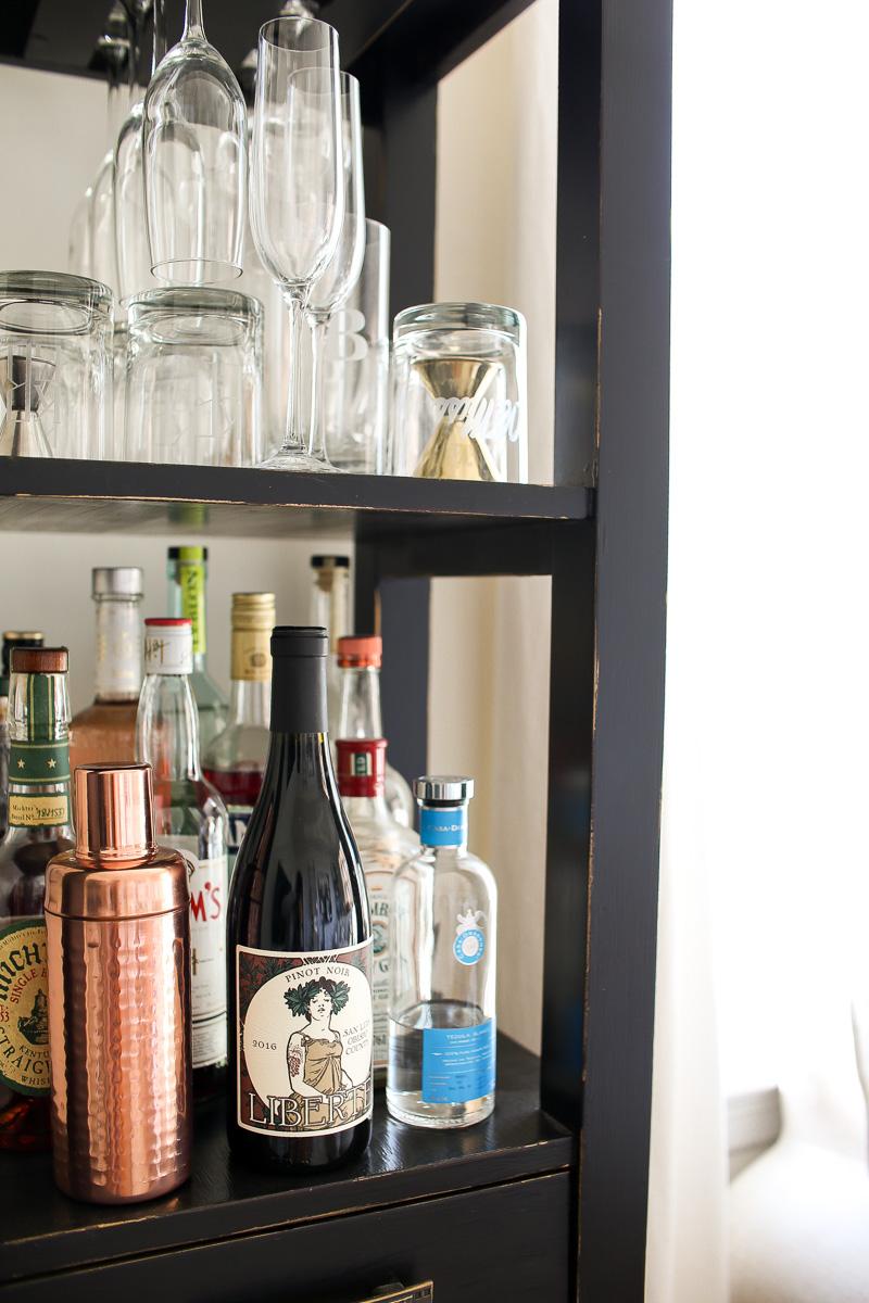 copper martini shaker