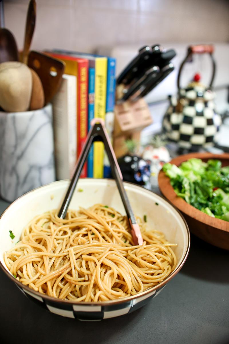 easy garlic noodle recipe