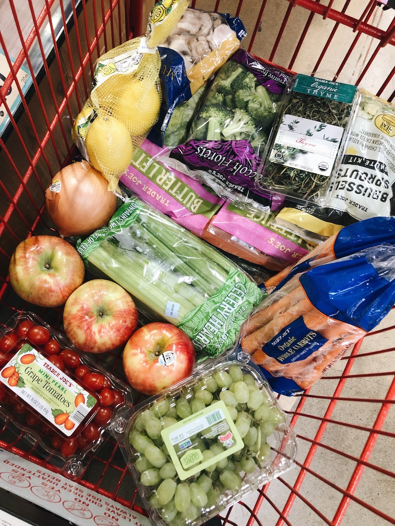 trader joes food haul