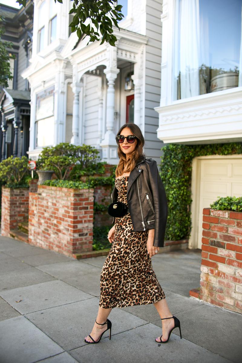 endless summer leopard skirt