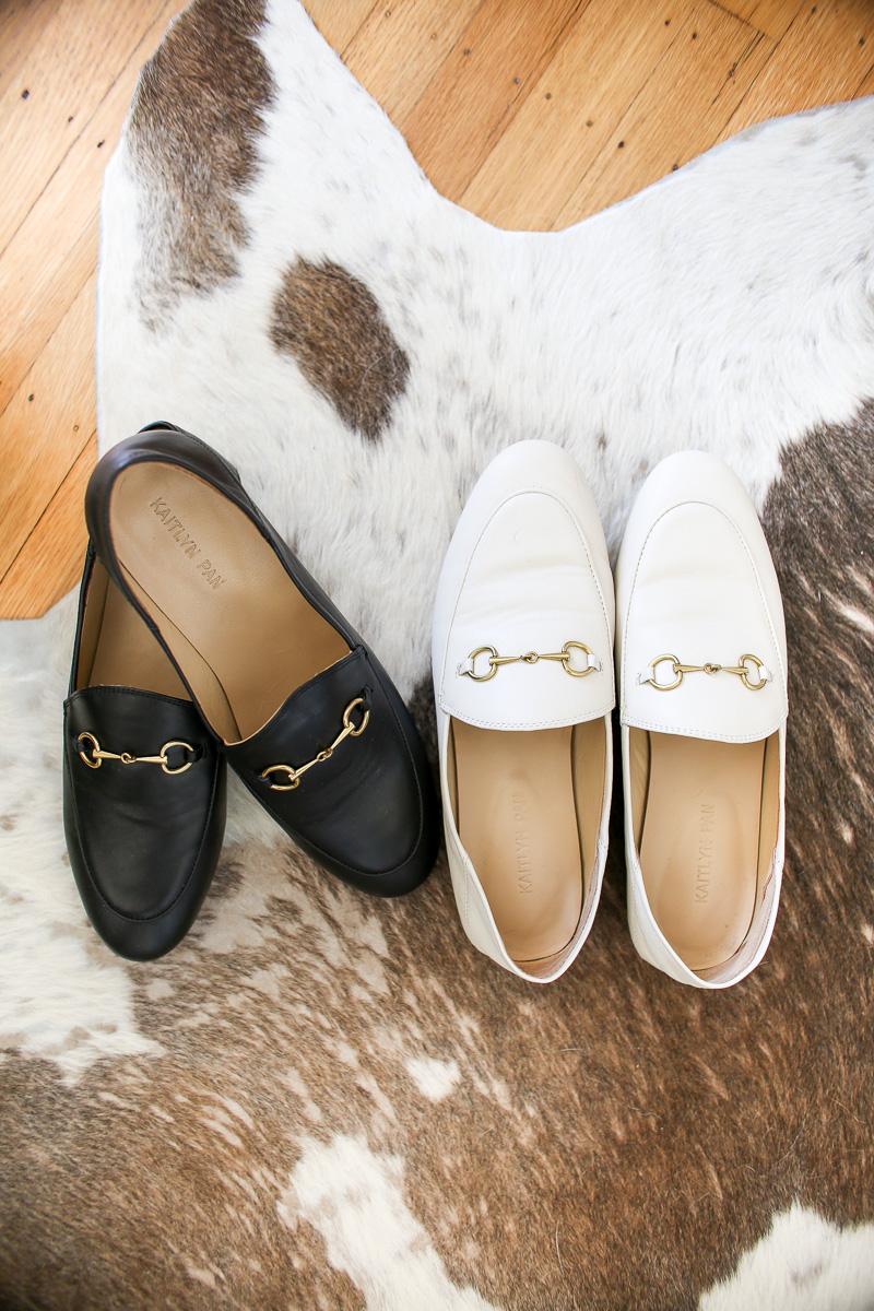 designer dupe loafers