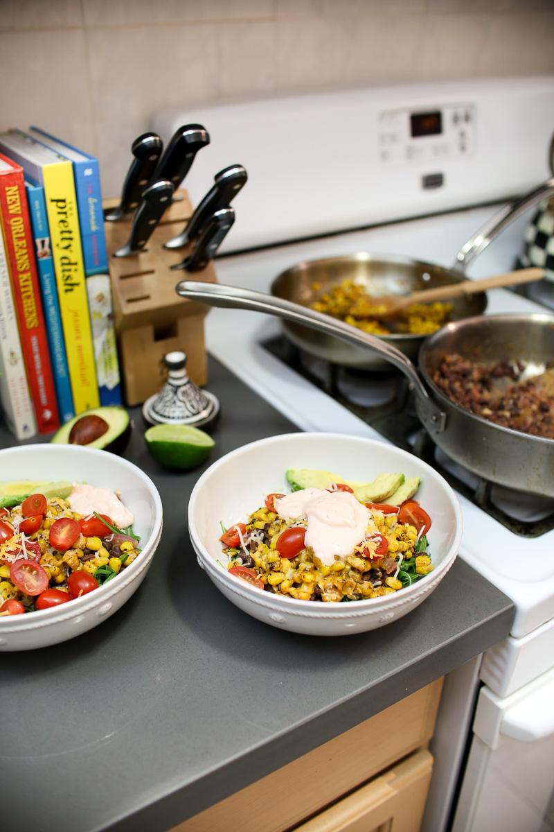 southwestern quinoa bowls