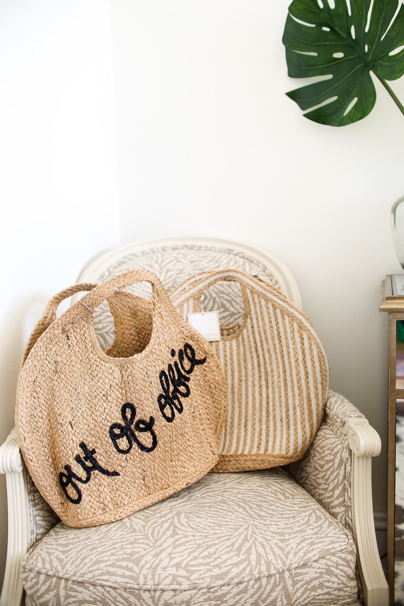 out of office beach bag