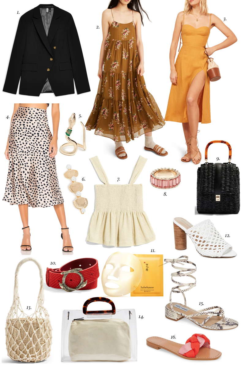 spring style mood board