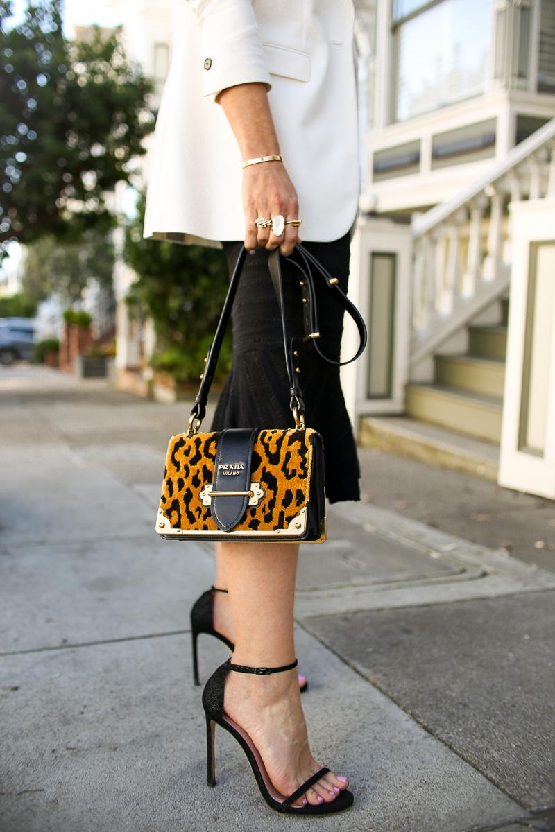 leopard prada cahier bag