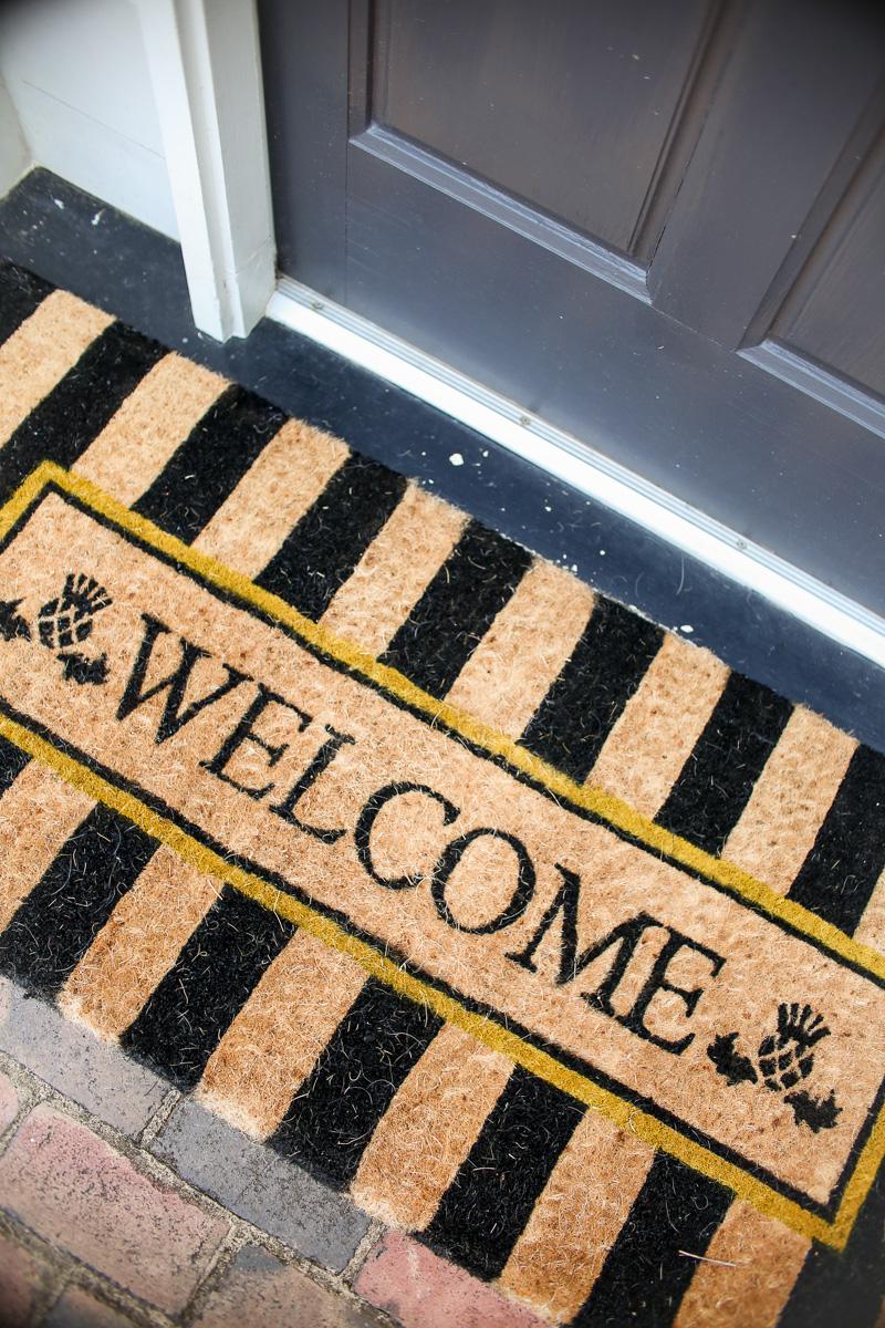 mackenzie childs welcome mat