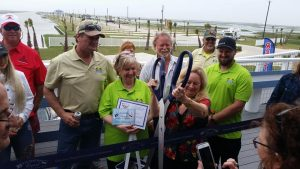 Ribbon Cutting at Blue Water RV Resort