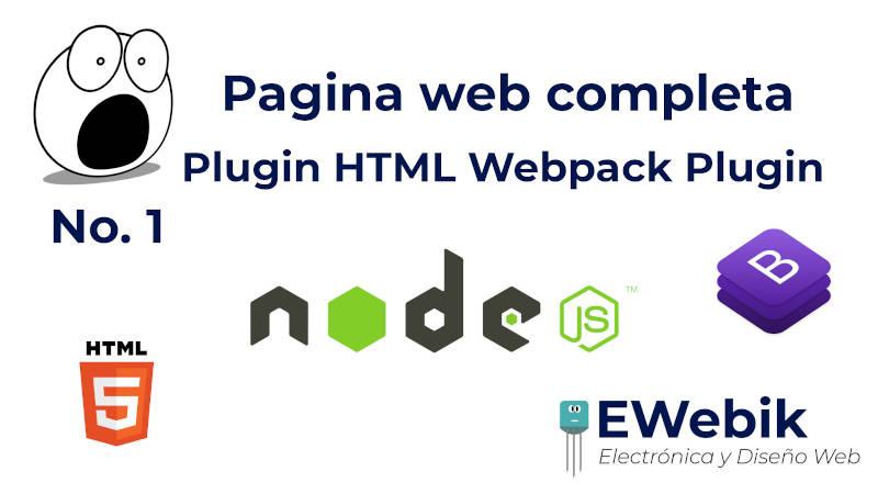Múltiples HTML / Rutas con HTML Web Pack Plugin