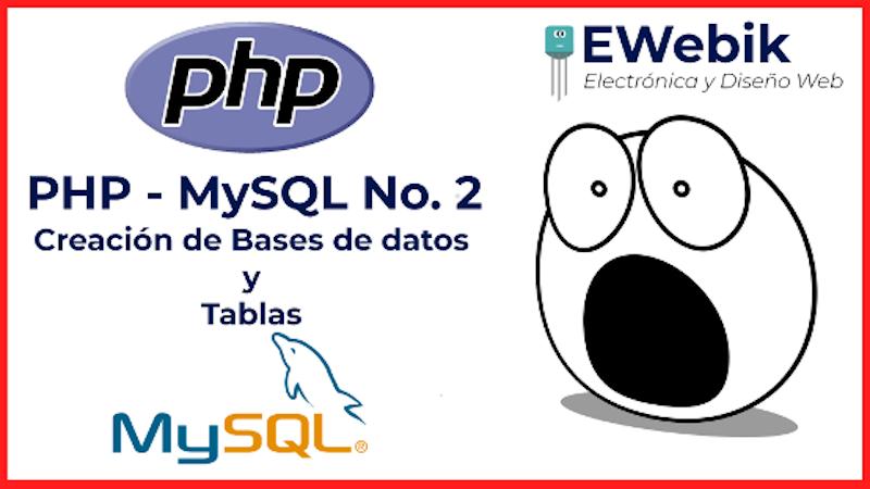 ¿Cómo crear una base de datos MySQL con PHP?