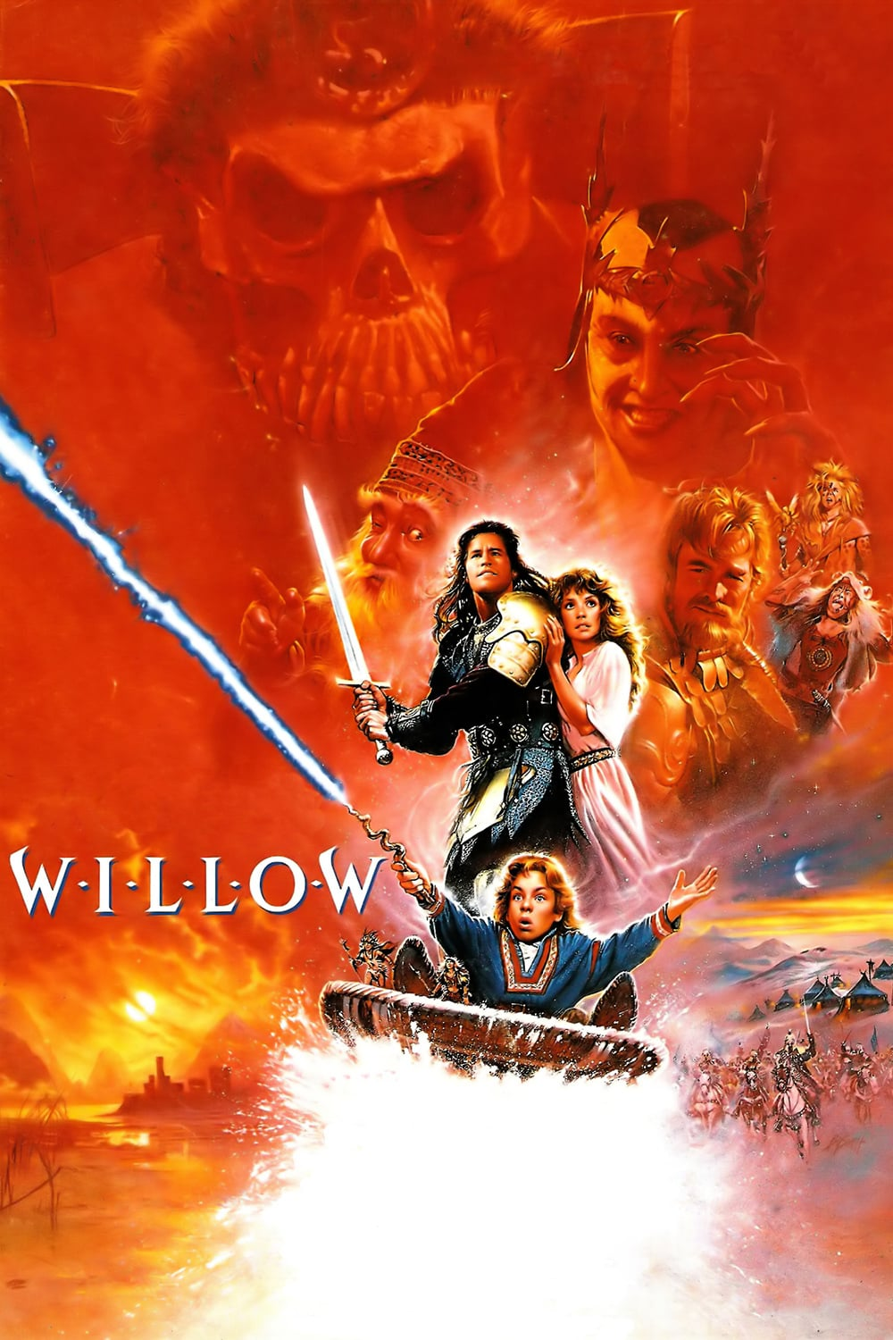 "Poster for the movie ""Willow"""