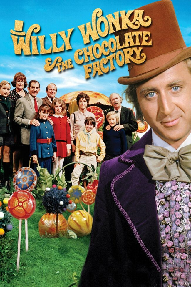 """Poster for the movie """"Willy Wonka & the Chocolate Factory"""""""