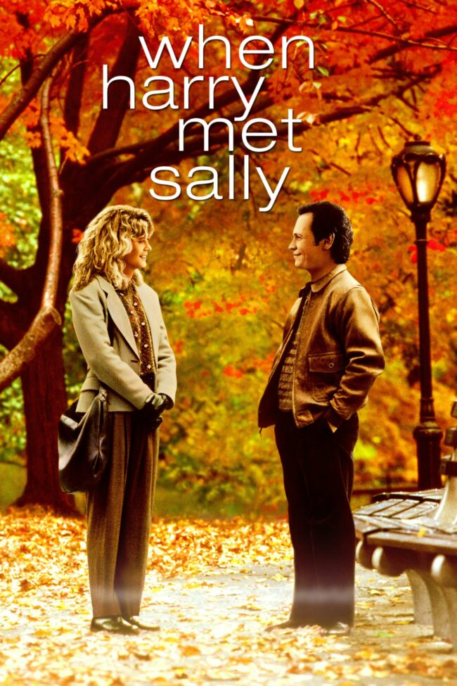 """Poster for the movie """"When Harry Met Sally..."""""""