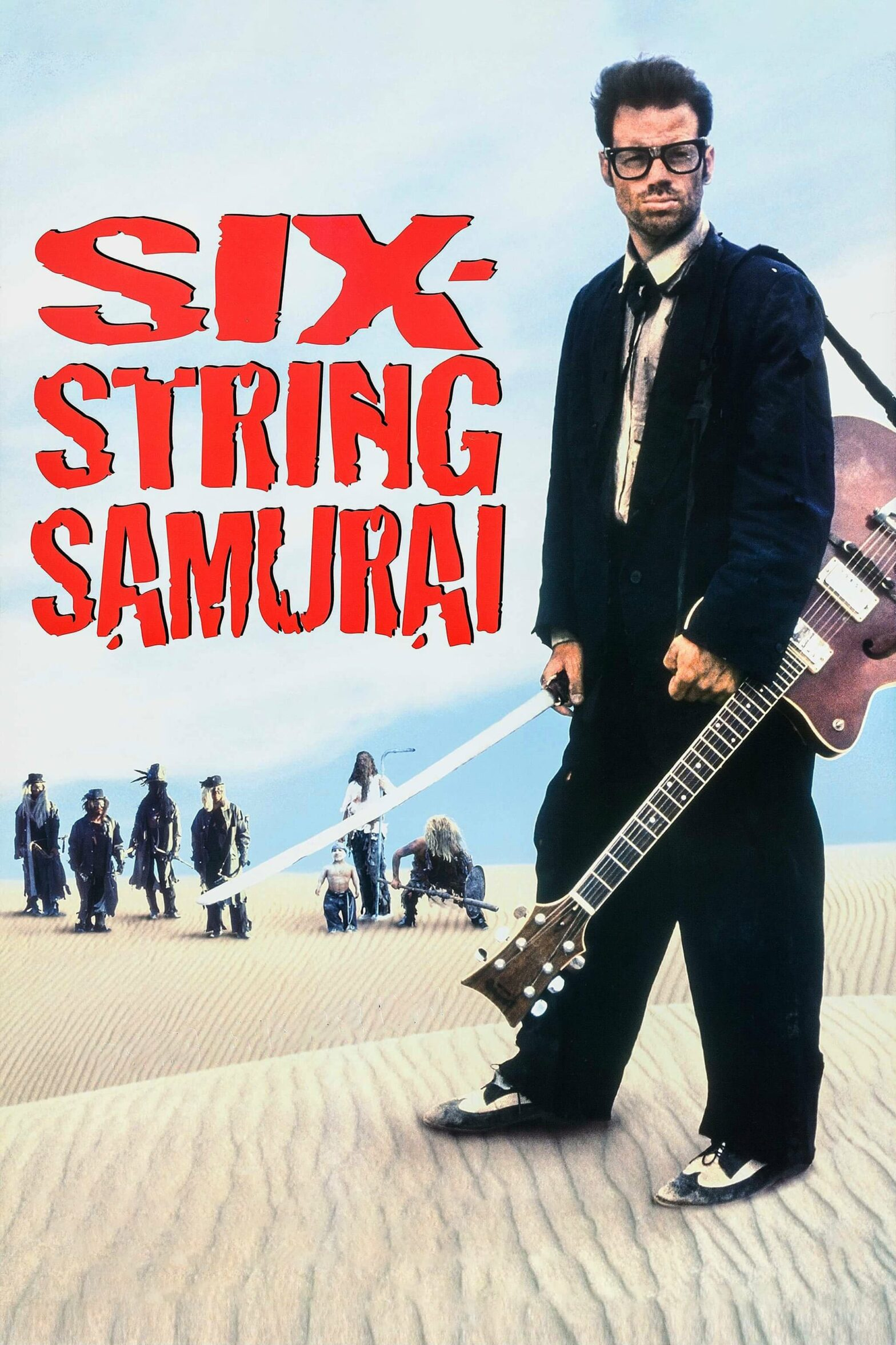 "Poster for the movie ""Six-String Samurai"""