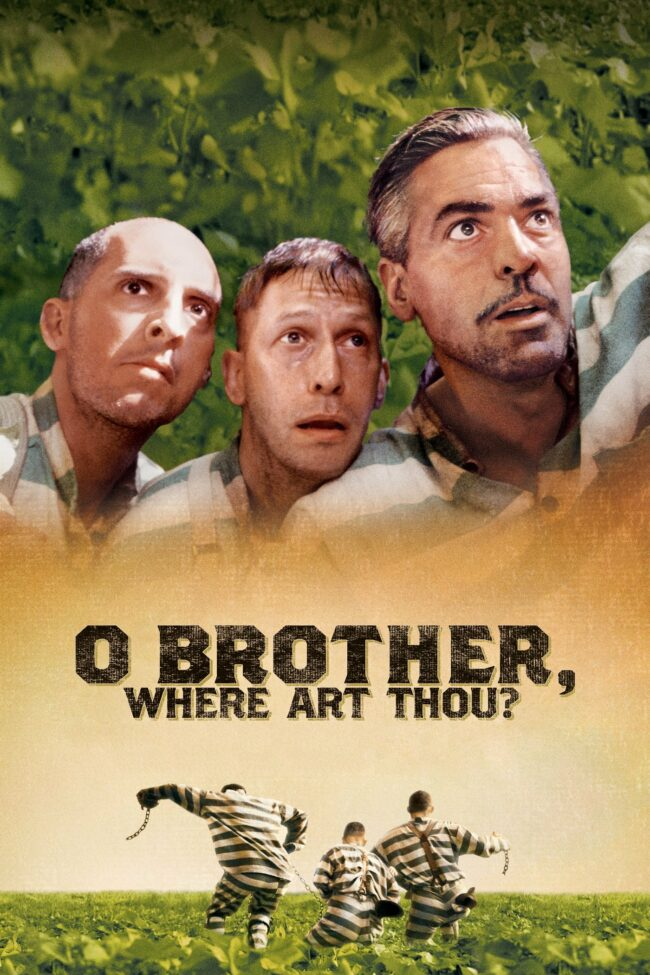 "Poster for the movie ""O Brother, Where Art Thou?"""