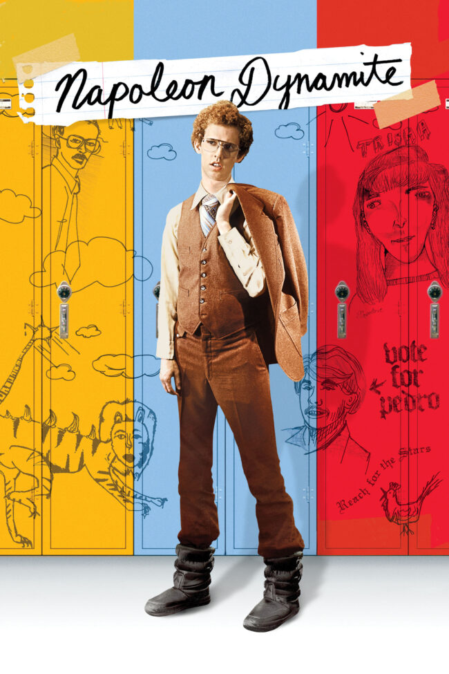 "Poster for the movie ""Napoleon Dynamite"""