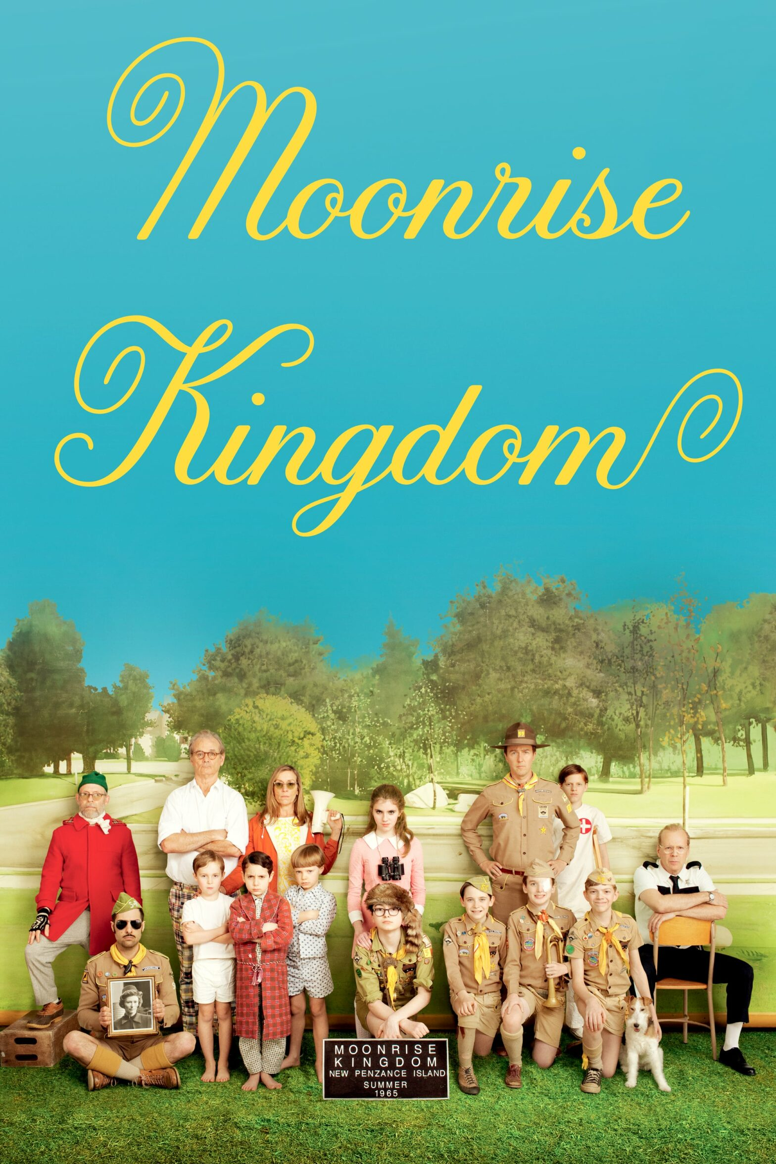 "Poster for the movie ""Moonrise Kingdom"""