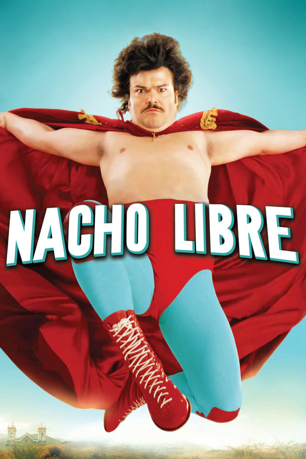 "Poster for the movie ""Nacho Libre"""
