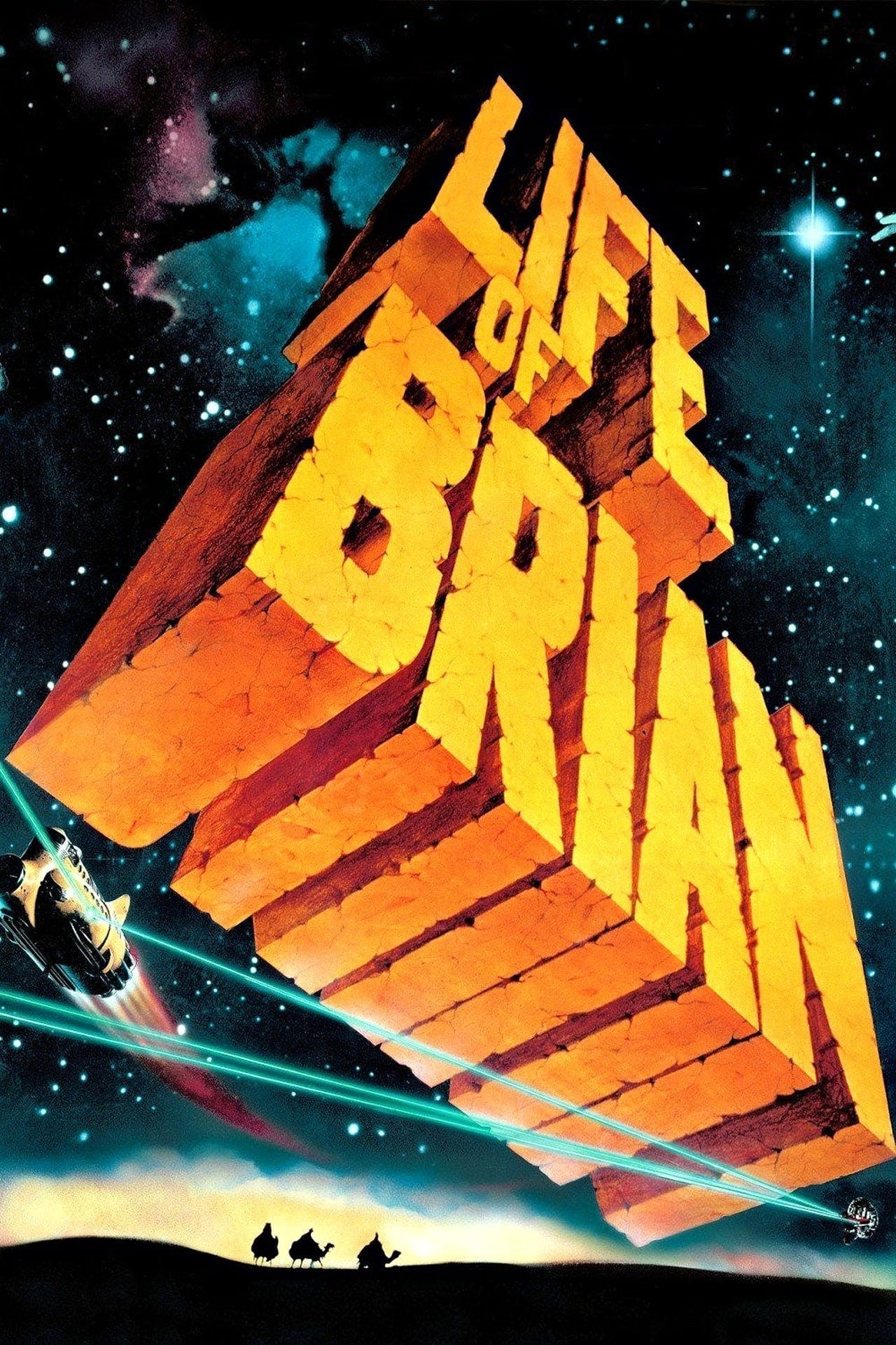"Poster for the movie ""Life of Brian"""