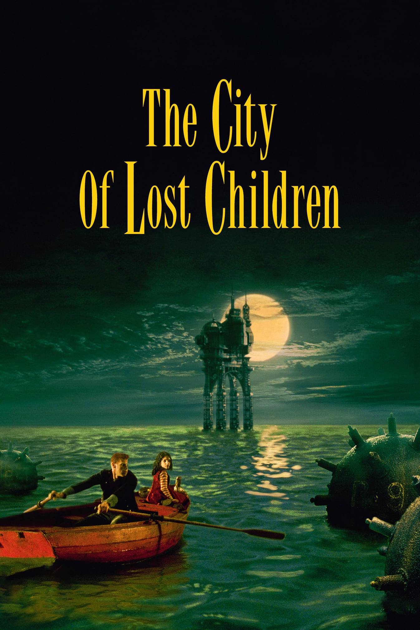 "Poster for the movie ""The City of Lost Children"""