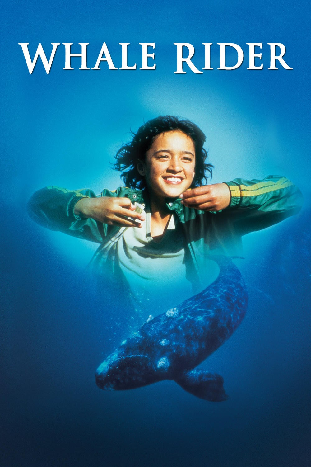 "Poster for the movie ""Whale Rider"""
