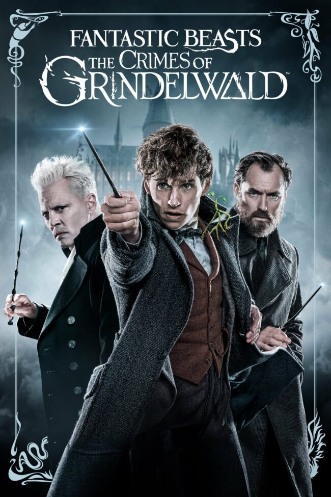 """Poster for the movie """"Fantastic Beasts: The Crimes of Grindelwald"""""""