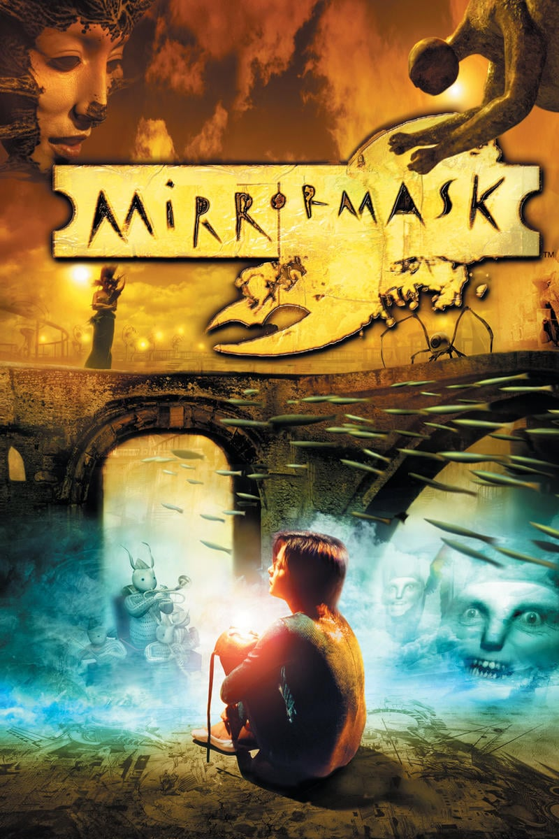 "Poster for the movie ""MirrorMask"""