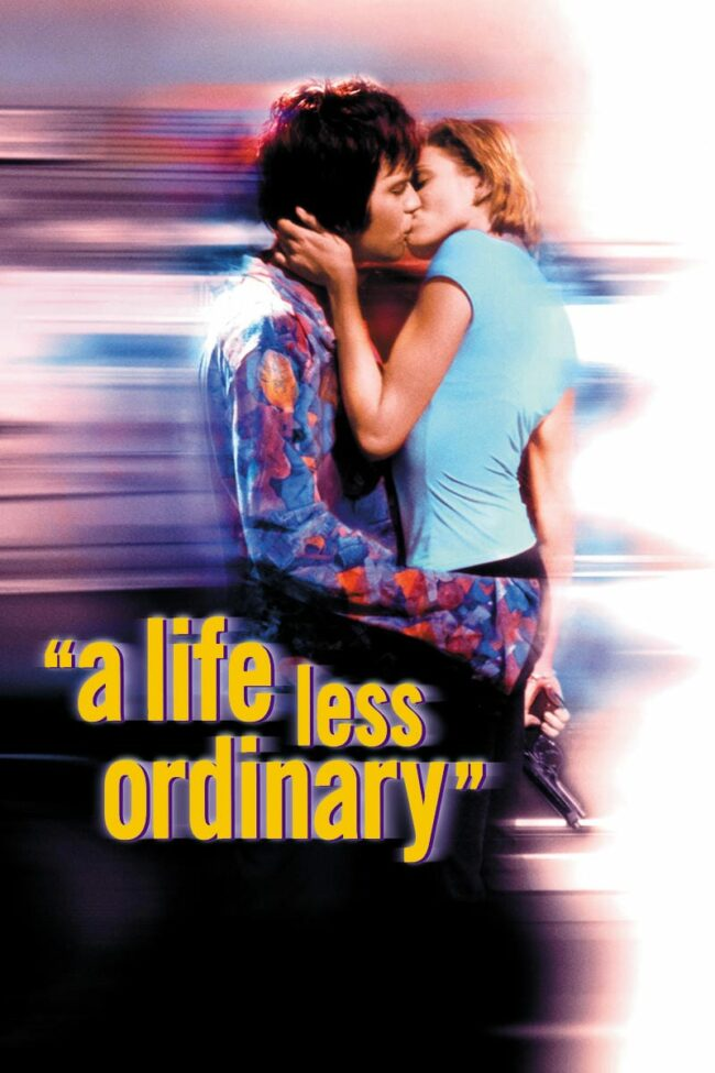 """Poster for the movie """"A Life Less Ordinary"""""""