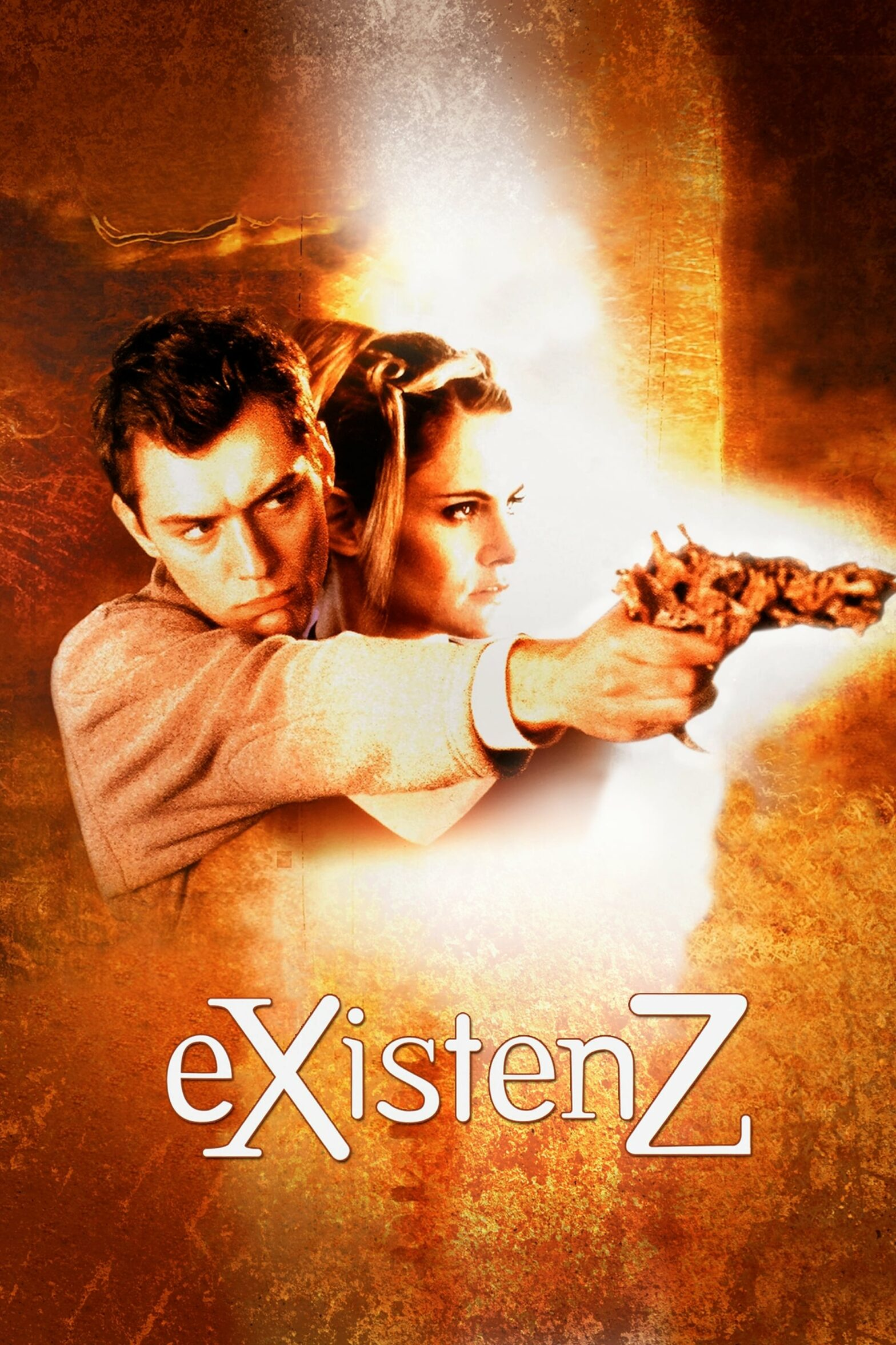 "Poster for the movie ""eXistenZ"""