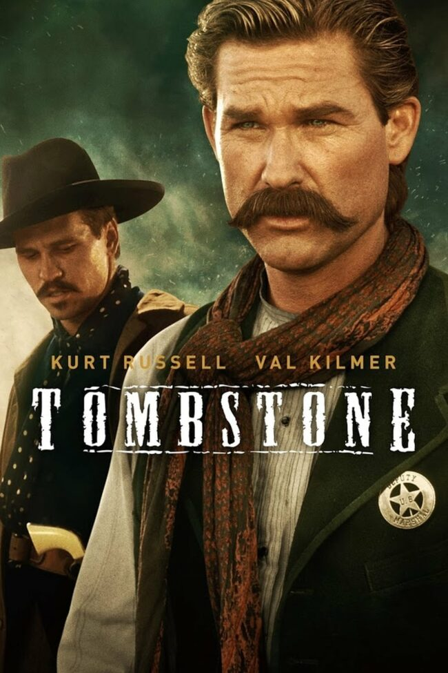 "Poster for the movie ""Tombstone"""