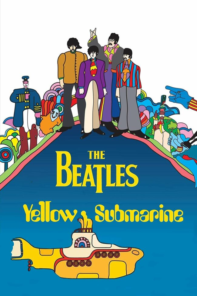 """Poster for the movie """"Yellow Submarine"""""""