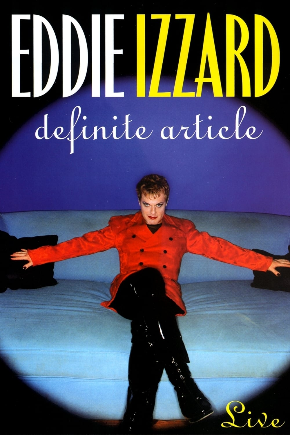 "Poster for the movie ""Eddie Izzard: Definite Article"""