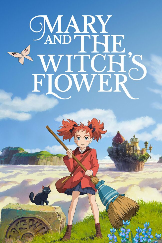 """Poster for the movie """"Mary and the Witch's Flower"""""""
