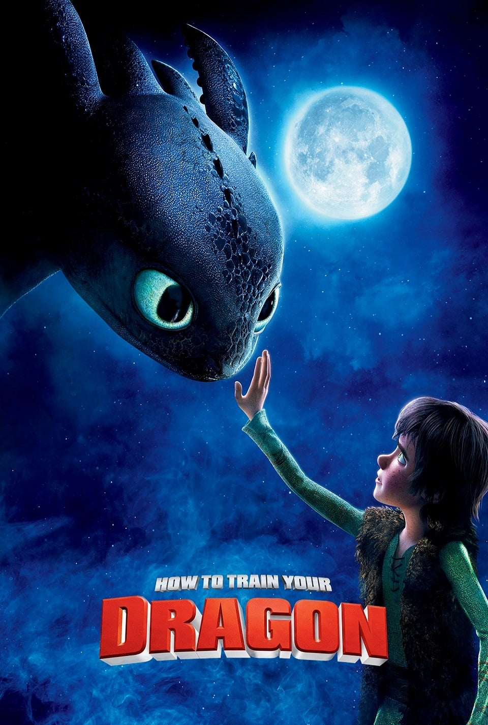 "Poster for the movie ""How to Train Your Dragon"""