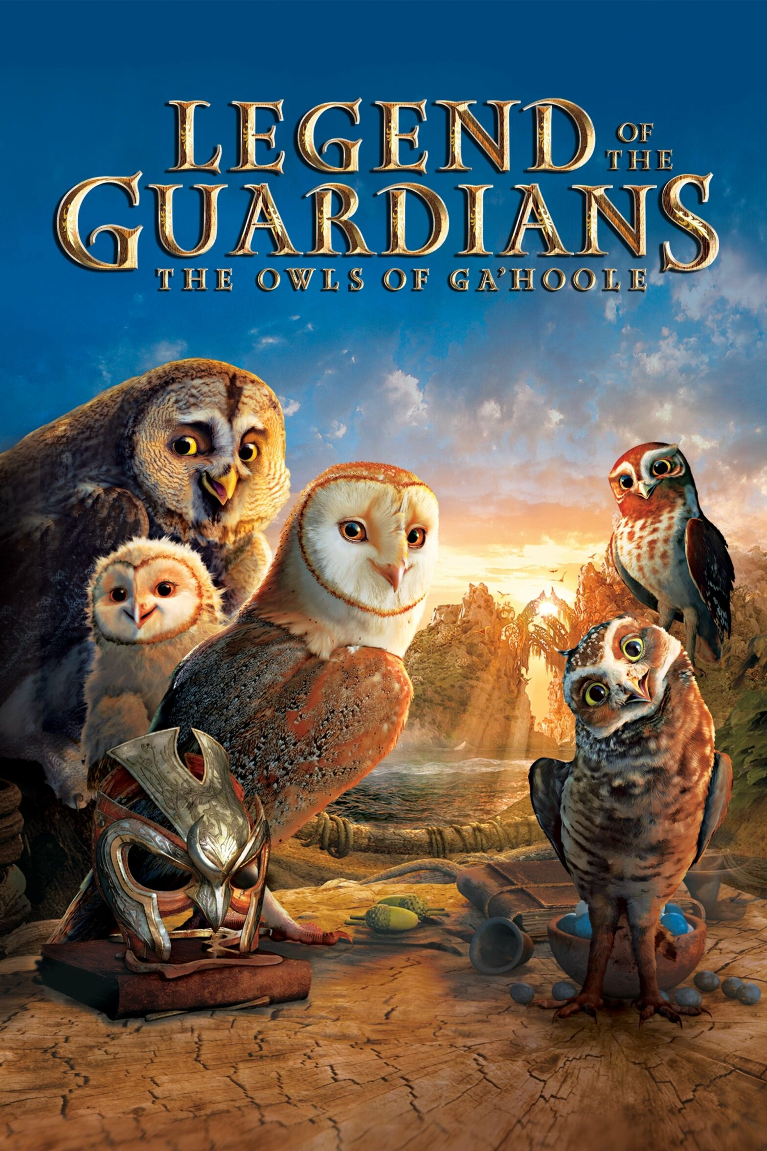 "Poster for the movie ""Legend of the Guardians: The Owls of Ga'Hoole"""