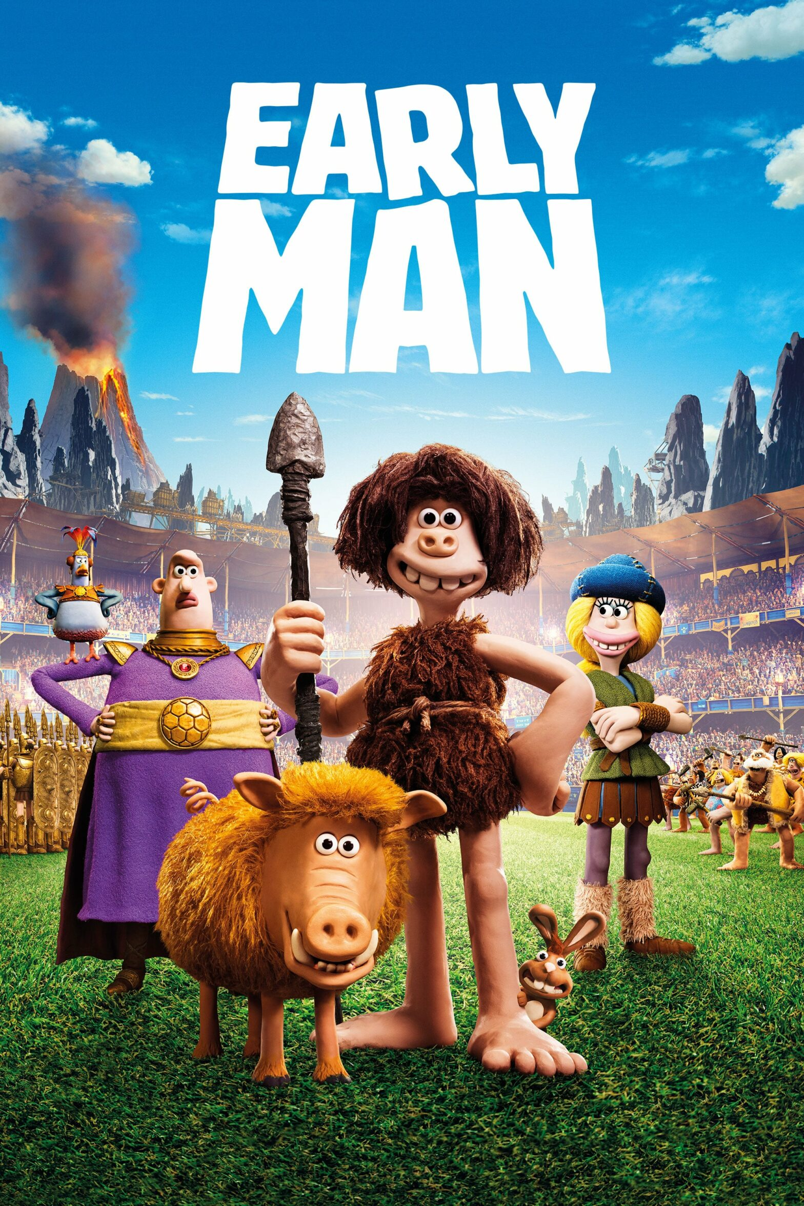 "Poster for the movie ""Early Man"""