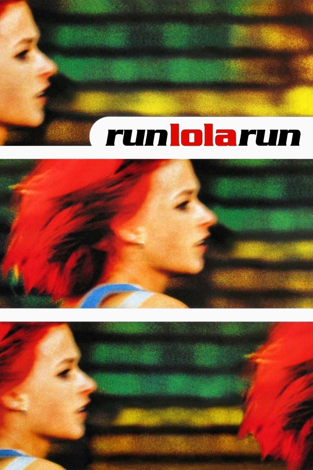 "Poster for the movie ""Run Lola Run"""