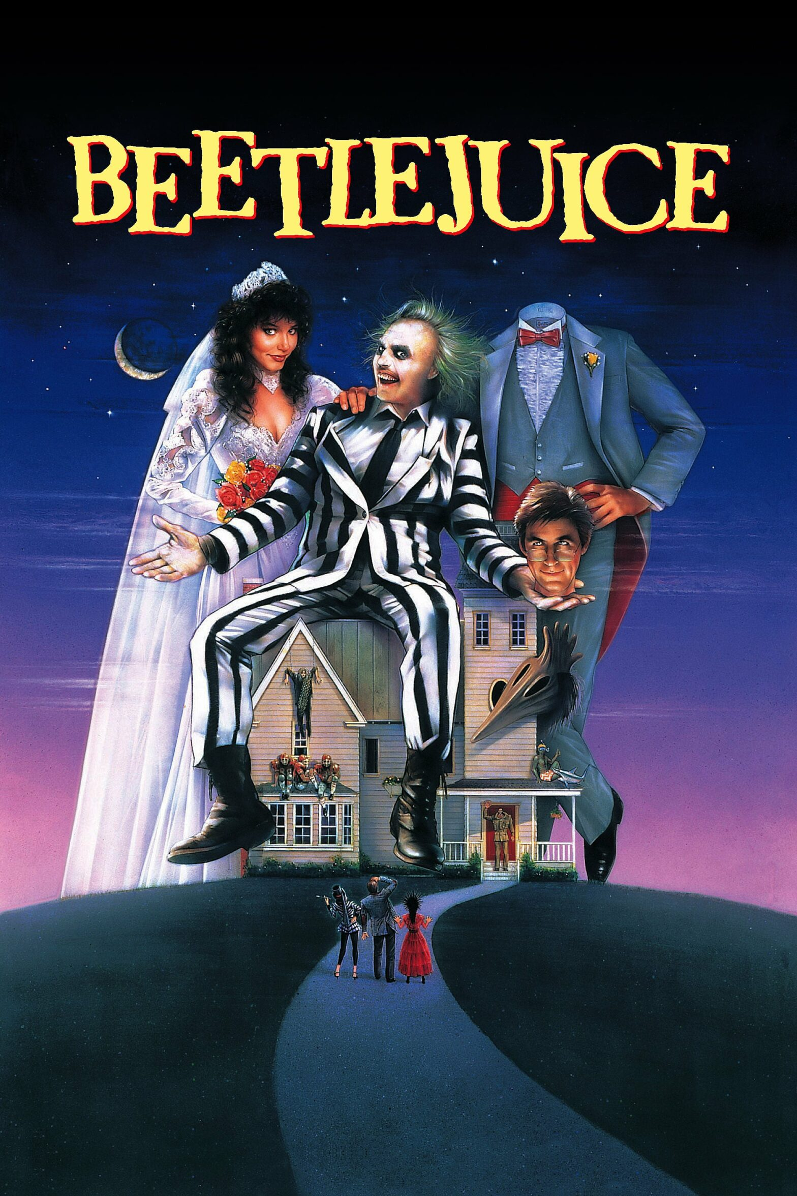 "Poster for the movie ""Beetlejuice"""