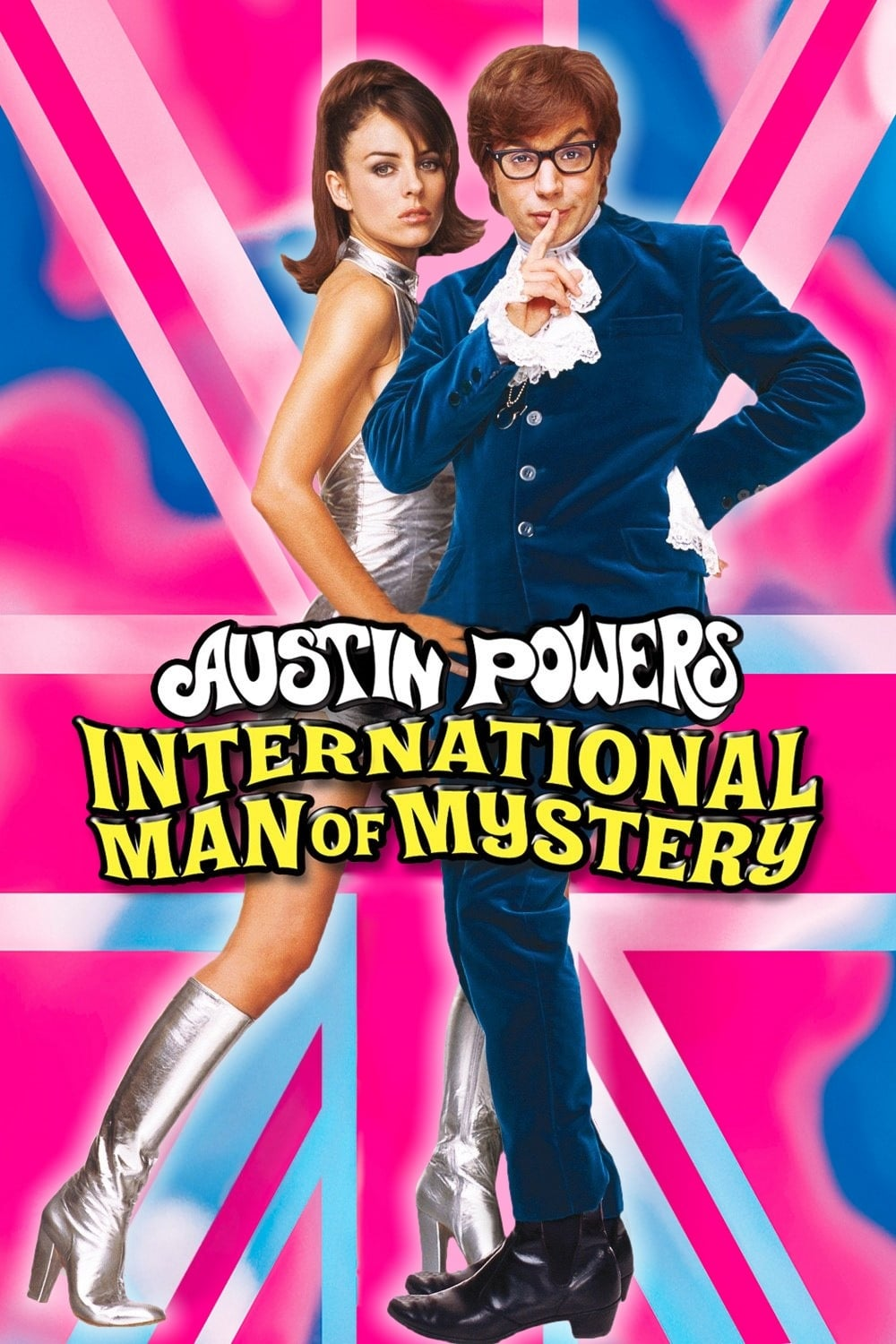 "Poster for the movie ""Austin Powers: International Man of Mystery"""