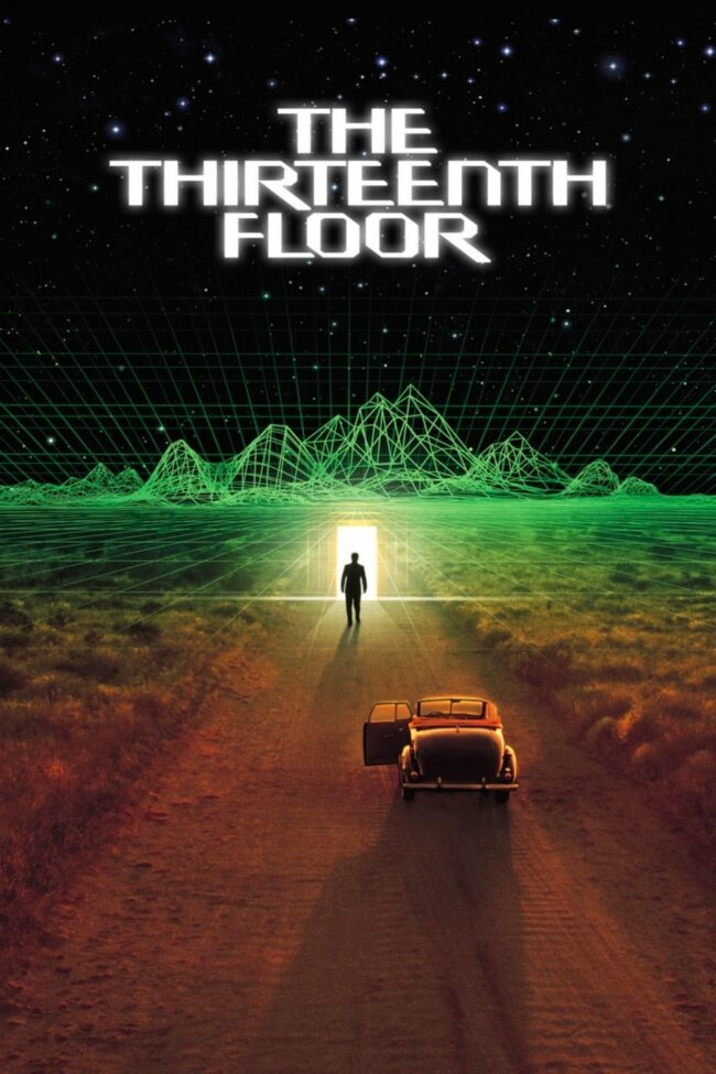 "Poster for the movie ""The Thirteenth Floor"""