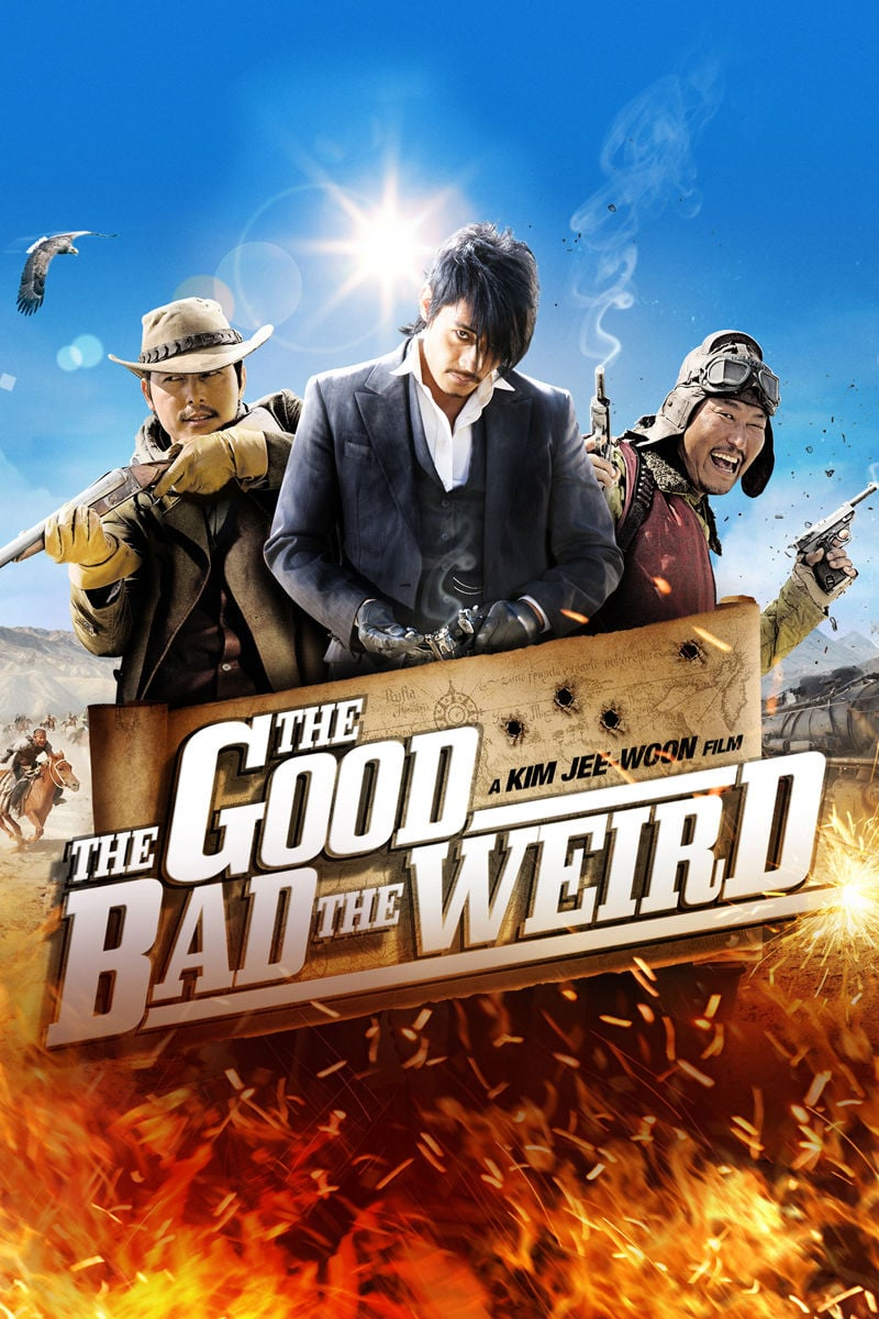 "Poster for the movie ""The Good, The Bad, The Weird"""