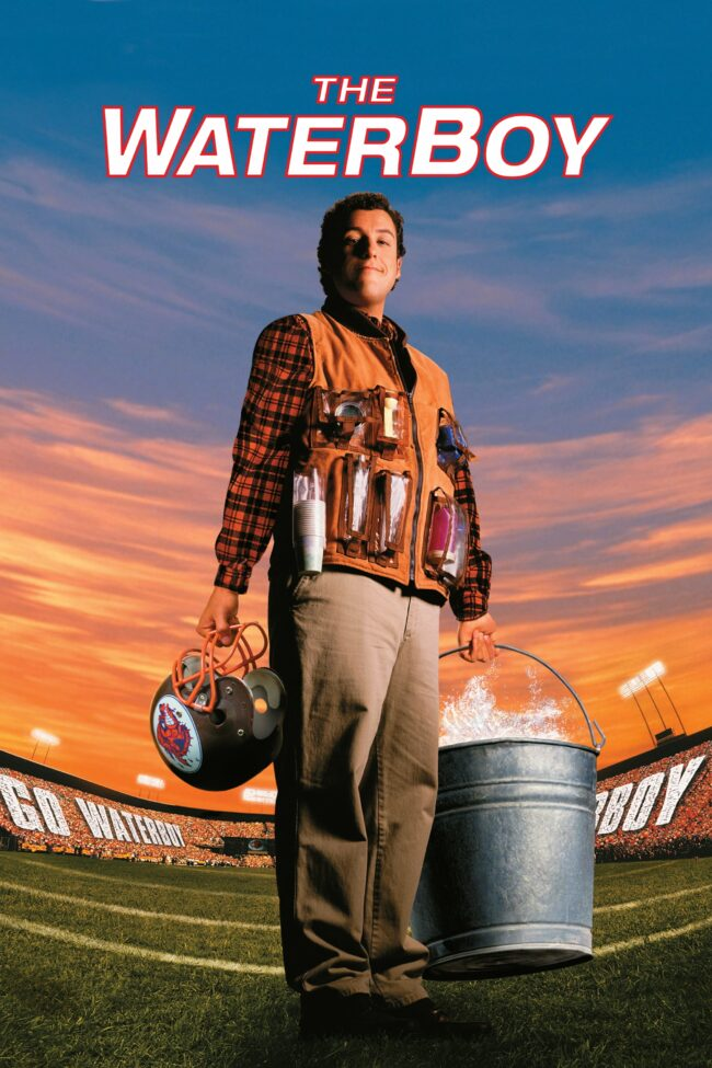 "Poster for the movie ""The Waterboy"""