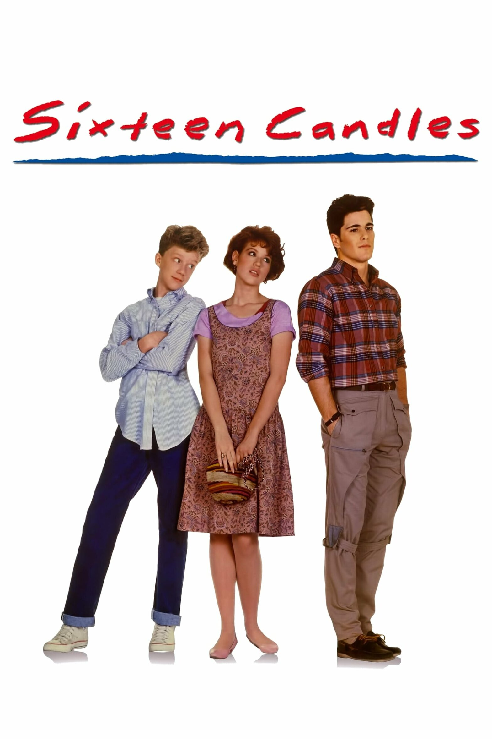 "Poster for the movie ""Sixteen Candles"""