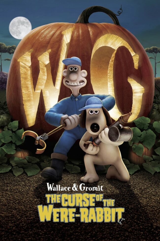 """Poster for the movie """"Wallace & Gromit: The Curse of the Were-Rabbit"""""""
