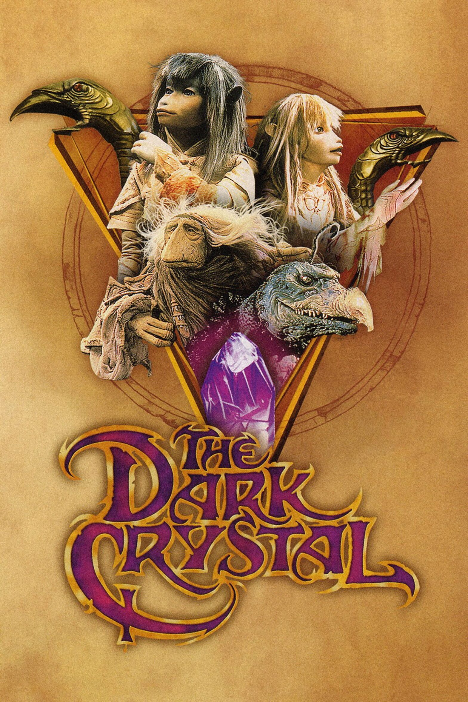 "Poster for the movie ""The Dark Crystal"""