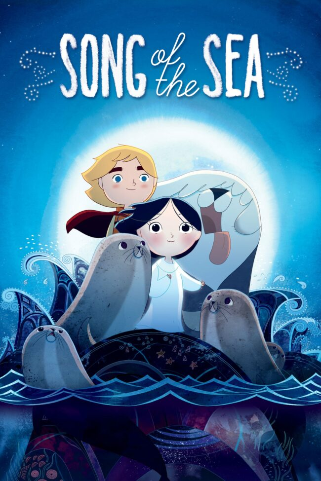 "Poster for the movie ""Song of the Sea"""