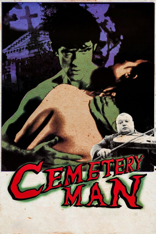 """Poster for the movie """"Cemetery Man"""""""