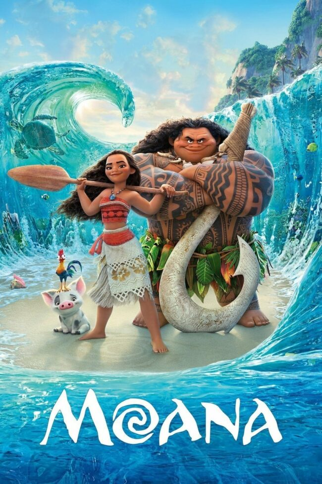 "Poster for the movie ""Moana"""