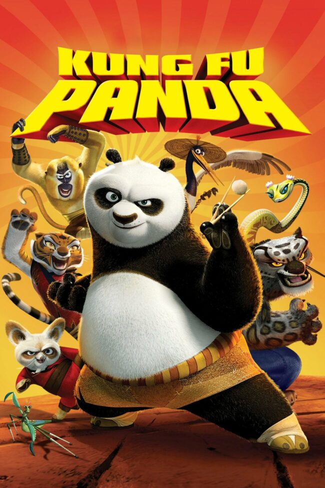 "Poster for the movie ""Kung Fu Panda"""